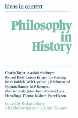 Philosophy in History by Richard Rorty