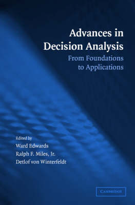 Advances in Decision Analysis by Ward Edwards