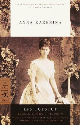 Mod Lib Anna Karenina book