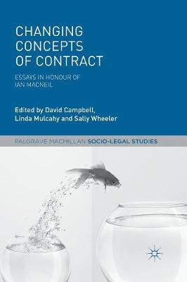 Changing Concepts of Contract by David Campbell