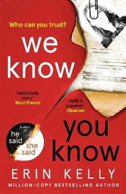 We Know You Know: The addictive new thriller from the author of He Said/She Said and Richard & Judy Book Club pick book