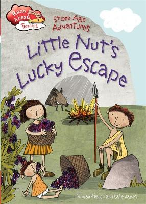 Race Ahead With Reading: Stone Age Adventures: Little Nut's Lucky Escape by Vivian French