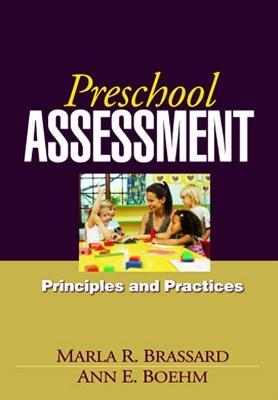 Preschool Assessment by Marla R. Brassard