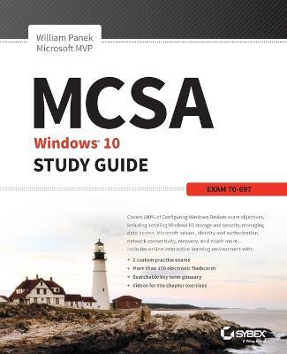 MCSA MS Windows 10 Study Guide by William Panek