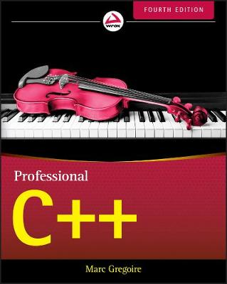 Professional C++ by Marc Gregoire