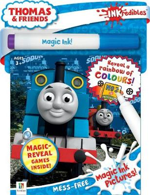 Inkredibles Magic Ink Thomas and Friends (reduced format) by