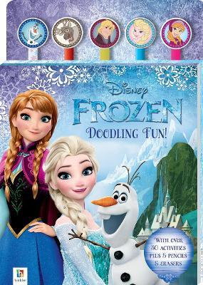 Disney Frozen 5-Pencil and Eraser Set book
