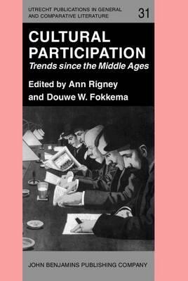 Cultural Participation by Ann Rigney