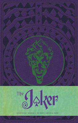 The Joker Ruled Pocket Journal by Matthew K. Manning