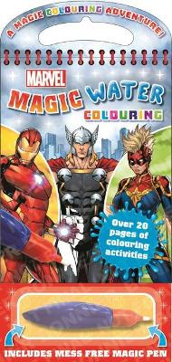 Marvel Magic Water Colouring book