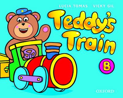 Teddy's Train: Activity Book B book