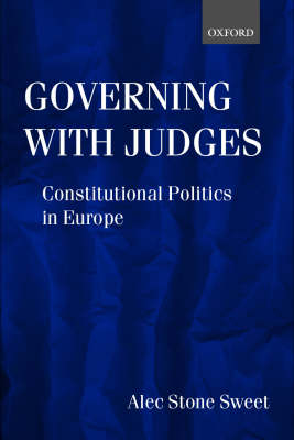 Governing with Judges book