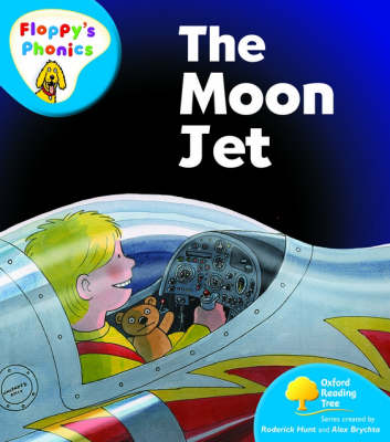 Oxford Reading Tree: Level 2A: Floppy's Phonics: The Moon Jet by Rod Hunt