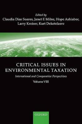 Critical Issues in Environmental Taxation by Kurt Deketelaere
