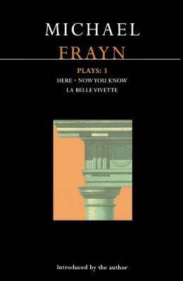 Frayn Plays book