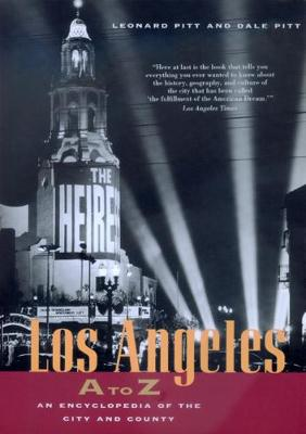 Los Angeles A to Z book