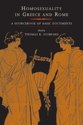Homosexuality in Greece and Rome book