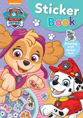 Paw Patrol Pink Sticker Activity Book book