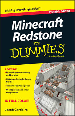 Minecraft Redstone for Dummies, Portable Edition book