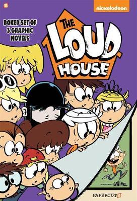 The Loud House Boxed Set, Vol. 1-3 by Chris Savino