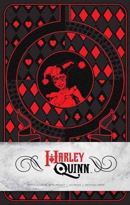 Harley Quinn Hardcover Ruled Journal by Matthew K. Manning