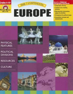The 7 Continents Europe by Evan-Moor Educational Publishers