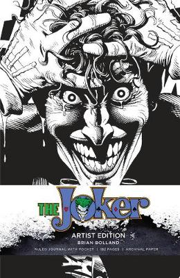DC Comics: Joker Hardcover Ruled Journal: Artist Edition by Insight Editions