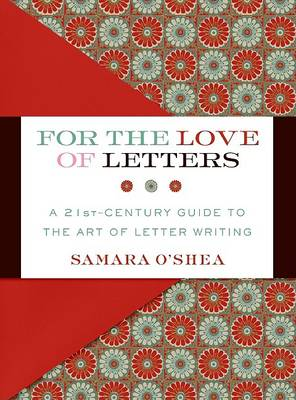 For the Love of Letters book