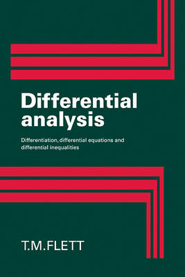 Differential Analysis book