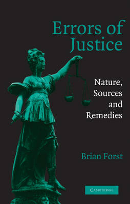 Errors of Justice by Brian Forst