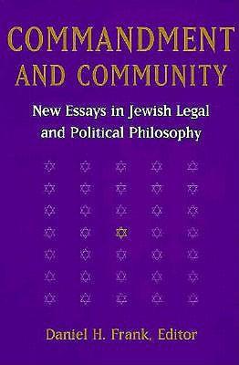 Commandment and Community by Daniel H. Frank