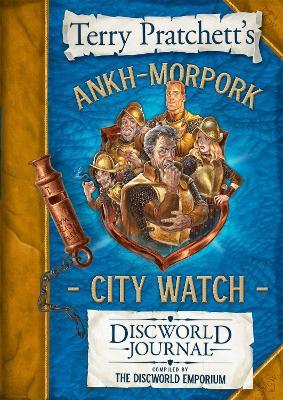 The Ankh-Morpork City Watch Discworld Journal book