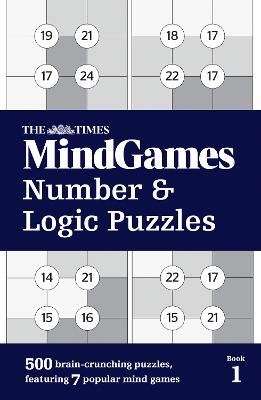 The Times Mind Games Number and Logic Puzzles Book 1 by The Times Mind Games