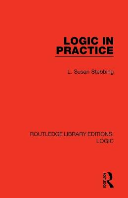 Logic in Practice book