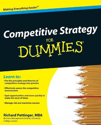Competitive Strategy For Dummies book
