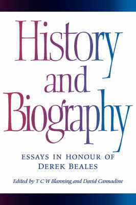History and Biography by T. C. W. Blanning