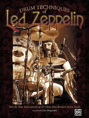 Drum Techniques of Led Zeppelin by Led Zeppelin