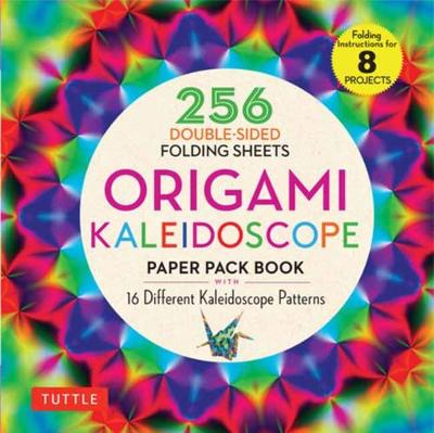 Origami Kaleidoscope Paper Pack Book: 256 Double-Sided Folding Sheets (Includes Instructions for 8 Projects) book