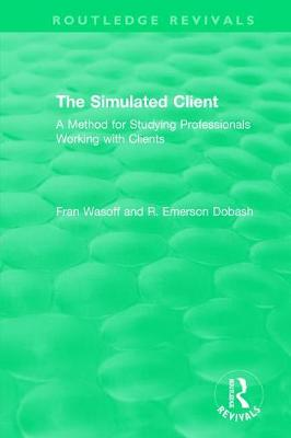 The Simulated Client (1996) by Fran Wasoff