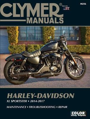 Harley-Davidson XL Sportster 2014-2017 by Clymer Publications