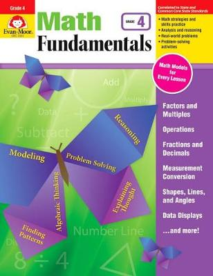 Math Fundamentals, Grade 4 by Evan-Moor Educational Publishers