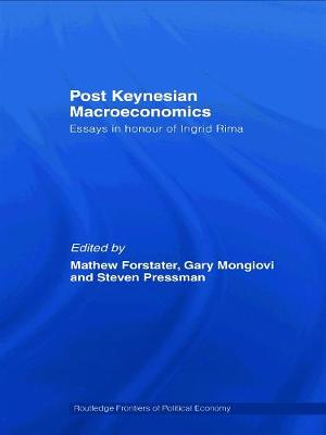 Post-Keynesian Macroeconomics by Mathew Forstater