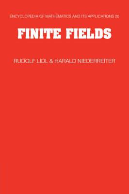 Finite Fields by Rudolf Lidl
