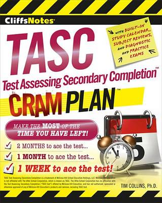 Cliffsnotes Tasc Test Assessing Secondary Completion Cram Plan by Tim Collins