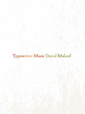 Typewriter Music book