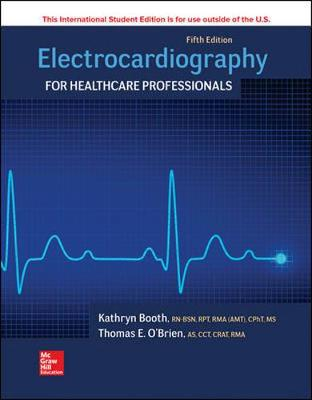 Electrocardiography for Healthcare Professionals book
