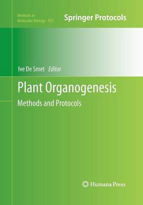 Plant Organogenesis by Ive De Smet