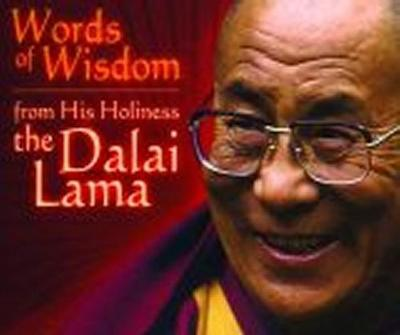 Words of Wisdom: From His Holiness The Dalai Lama by Margaret Gee