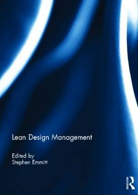 Lean Design Management book