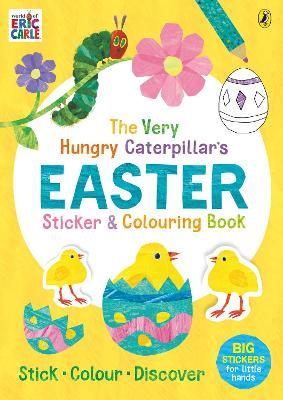 The Very Hungry Caterpillar's Easter Sticker and Colouring Book by Eric Carle